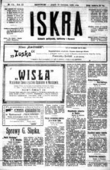 Iskra. Dziennik polityczny, społeczny i literacki, 1920, R. 11, nr 101