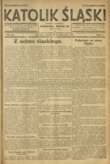 Katolik Śląski, 1925, R. 1, Nr. 62