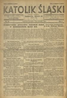 Katolik Śląski, 1925, R. 1, Nr. 78