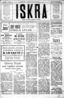 Iskra. Dziennik polityczny, społeczny i literacki, 1920, R. 11, nr 204