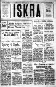 Iskra. Dziennik polityczny, społeczny i literacki, 1920, R. 11, nr 209