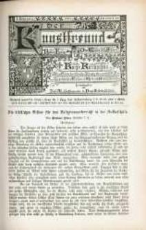 Der Kunstfreund. Neue Folge, Kurze Rundschau. Jg. 3, nr 12.