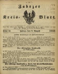 Zabrzer Kreis-Blatt, 1888, St. 32