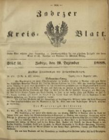 Zabrzer Kreis-Blatt, 1888, St. 51