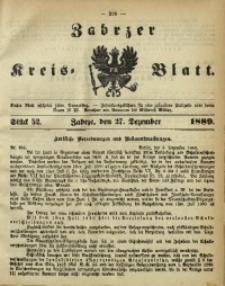 Zabrzer Kreis-Blatt, 1889, St. 52