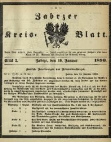 Zabrzer Kreis-Blatt, 1890, St. 2