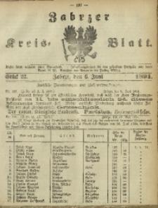 Zabrzer Kreis-Blatt, 1891, St. 23