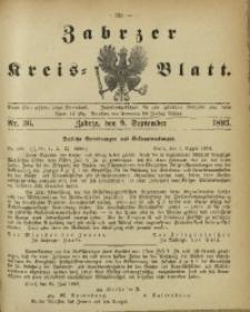 Zabrzer Kreis-Blatt, 1893, St. 36