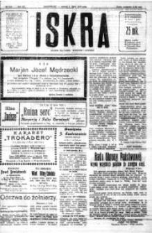 Iskra. Dziennik polityczny, społeczny i literacki, 1920, R. 11, nr 229