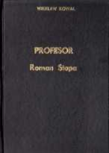 Profesor Roman Stopa