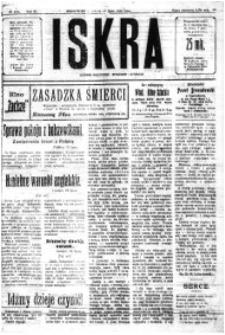 Iskra. Dziennik polityczny, społeczny i literacki, 1920, R. 11, nr 238
