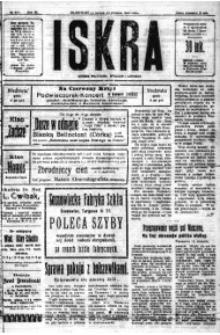 Iskra. Dziennik polityczny, społeczny i literacki, 1920, R. 11, nr 263