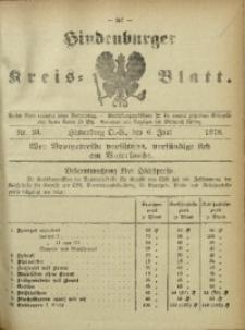 Hindenburger Kreis-Blatt, 1918, Nr. 23