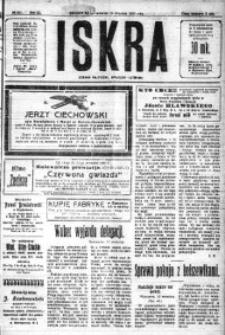 Iskra. Dziennik polityczny, społeczny i literacki, 1920, R. 11, nr 291