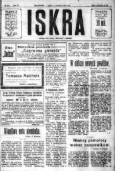 Iskra. Dziennik polityczny, społeczny i literacki, 1920, R. 11, nr 292