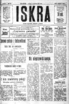 Iskra. Dziennik polityczny, społeczny i literacki, 1920, R. 11, nr 293