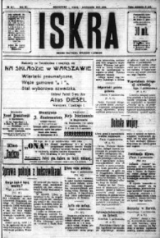 Iskra. Dziennik polityczny, społeczny i literacki, 1920, R. 11, nr 307