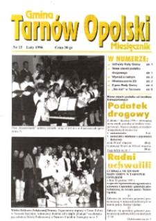 Gmina Tarnów Opolski 1996, nr 15.