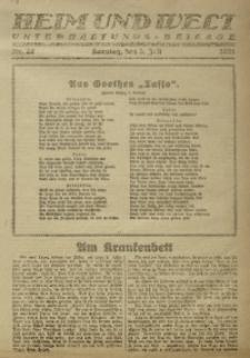 Heim und Welt, 1921, Nr. 26