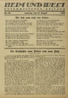 Heim und Welt, 1921, Nr. 36