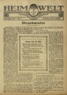 Heim und Welt, 1922, [Jg. 7], Nr. 4