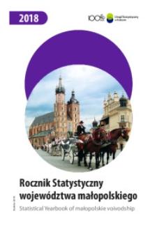Rocznik Statystyczny Województwa Małopolskiego, 2018