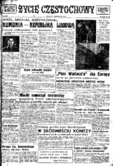 Życie Częstochowy, 1948, nr 1