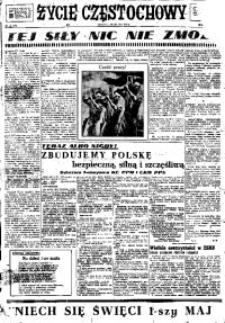 Życie Częstochowy, 1948, nr 119