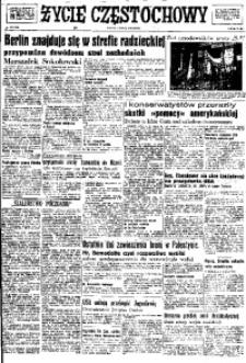 Życie Częstochowy, 1948, nr 185