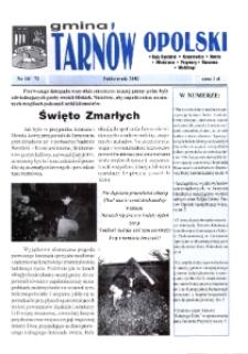 Gmina Tarnów Opolski : Kąty Opolskie, Kosorowice, Nakło [...] 2002, nr 10 (72).