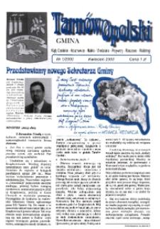 Gmina Tarnów Opolski : Kąty Opolskie, Kosorowice, Nakło [...] 2003, nr 1.