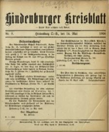 Hindenburger Kreisblatt, 1926, Nr. 9