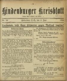 Hindenburger Kreisblatt, 1926, Nr. 10