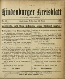 Hindenburger Kreisblatt, 1926, Nr. 11