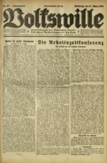 Volkswille, 1926, Jg. 11, Nr. 62