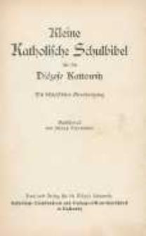 Kleine Katholische Schulbibel für die Diözese Kattowitz.