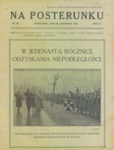 Na Posterunku. Gazeta Policji Państwowej, 1929, R. 11, nr 46