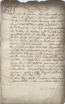 Dekret Śląskiej Królewskiej Kamery we Wrocławiu w sprawie uprawnień karczmarzy w Cieszynie do warzenia piwa z 31.05.1715 r.