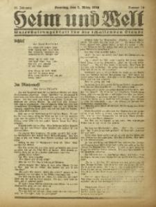 Heim und Welt, 1926, Jg. 11, Nr. 10