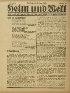Heim und Welt, 1926, Jg. 11, Nr. 23