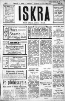 Iskra. Dziennik polityczny, społeczny i literacki, 1921, R. 12, nr 31