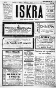 Iskra. Dziennik polityczny, społeczny i literacki, 1921, R. 12, nr 56