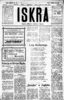 Iskra. Dziennik polityczny, społeczny i literacki, 1921, R. 12, nr 80