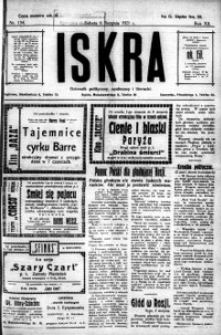 Iskra. Dziennik polityczny, społeczny i literacki, 1921, R. 12, nr 134