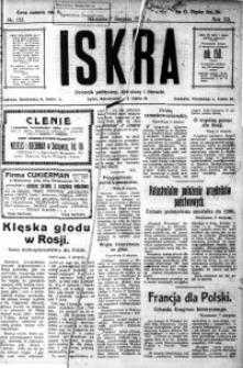Iskra. Dziennik polityczny, społeczny i literacki, 1921, R. 12, nr 135