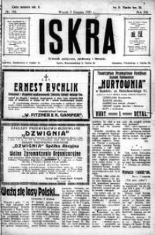 Iskra. Dziennik polityczny, społeczny i literacki, 1921, R. 12, nr 136
