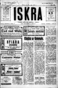 Iskra. Dziennik polityczny, społeczny i literacki, 1921, R. 12, nr 174