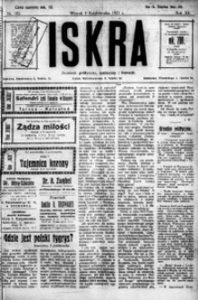 Iskra. Dziennik polityczny, społeczny i literacki, 1921, R. 12, nr 182