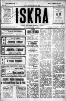Iskra. Dziennik polityczny, społeczny i literacki, 1921, R. 12, nr 201