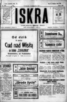 Iskra. Dziennik polityczny, społeczny i literacki, 1921, R. 12, nr 207